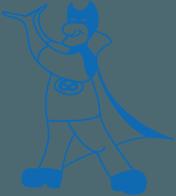 Bagman Figur Logo Icon
