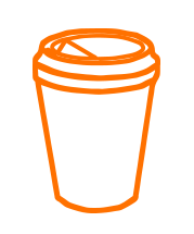 Coffee to go Becher-Logo