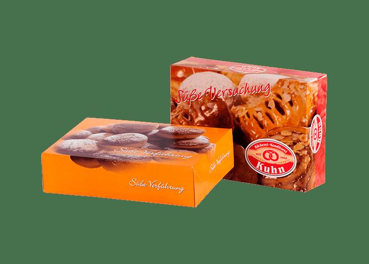 Tortenkartons oder Snackkartons