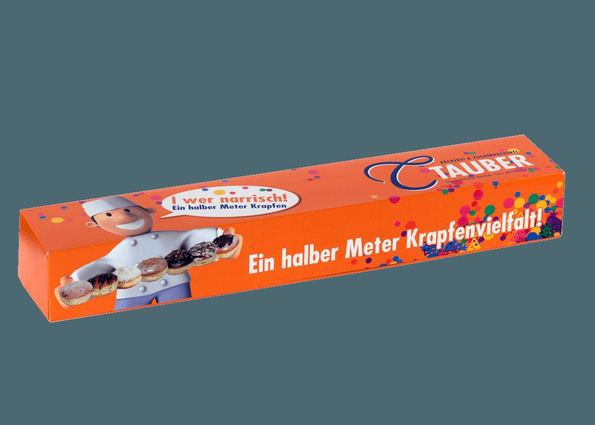 Snackboxen und Krapfenkartons