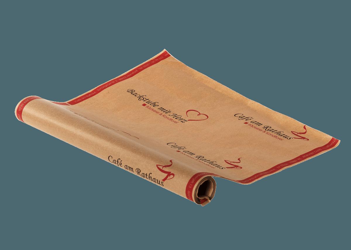 Rollenpapier mit Aufdruck