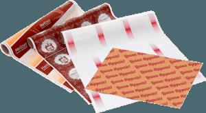 Einschlagpapier oder Rollenpapier