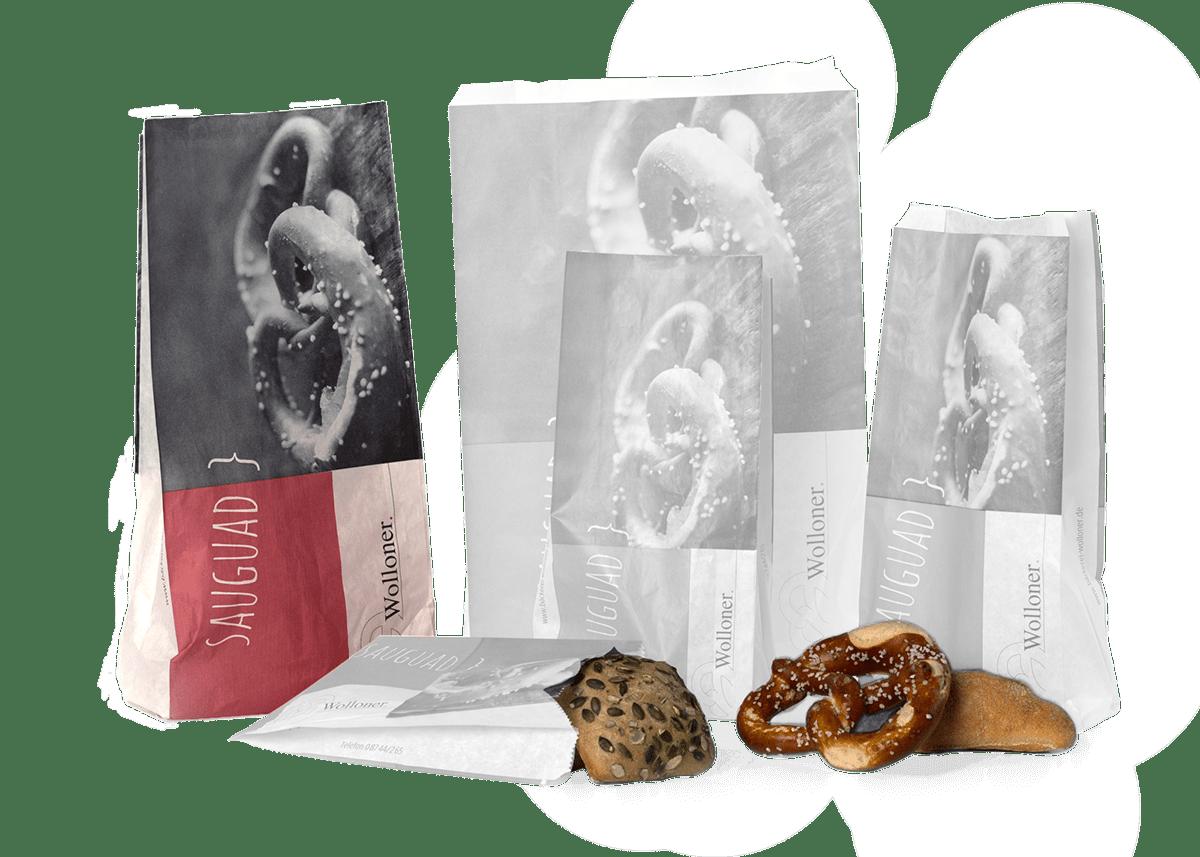 Brötchentüte (L) z.B. geeignet für 500g Brot