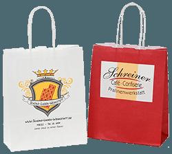 Papiertragetaschen mit Kordel - Individuell bedruckte Tragetaschen für München